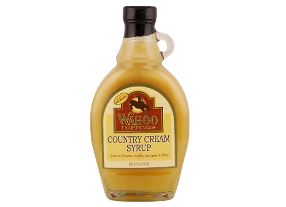 Country Cream Syrup