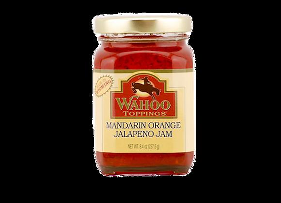 Mandarin Orange-Jalapeño Jam