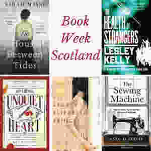 Cover of the 5 Scottish fiction books discussed in this post