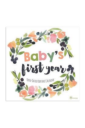 Baby's First Year Calendar