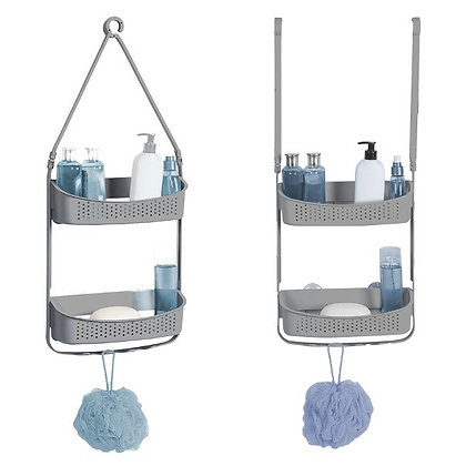 Convertible Flexible Shower Caddy