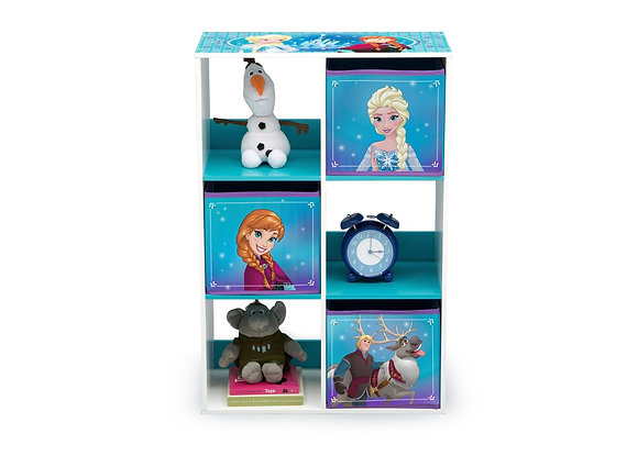 Frozen 6 Cubby Storage Unit