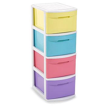 Storage unit with 4 drawers Tamesis STDO SWEET
