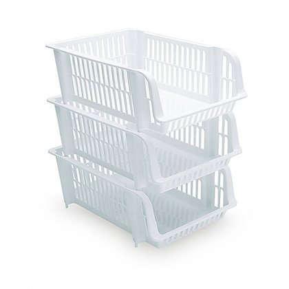 Stackable - S WHITE