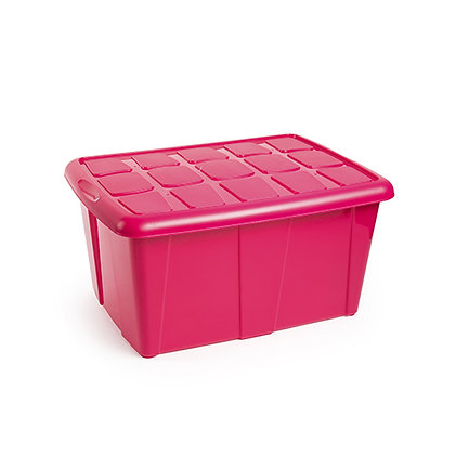 Multipurpose Box No 18 60L Fuchsia