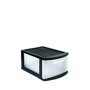 Storage Unit With 1 Drawer Tamesis BLACK