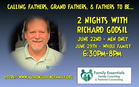 2 Nights with Richard Godsil Event Poste