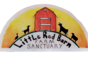 Clear Little Red Barn Farm Sanctuary Logo