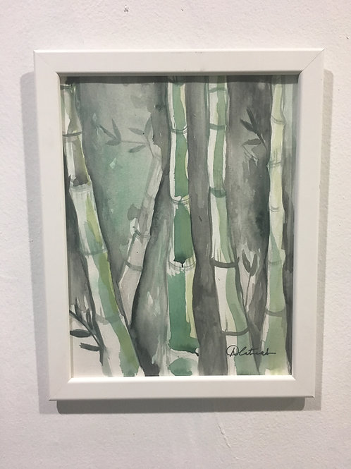 Bamboo Watercolor