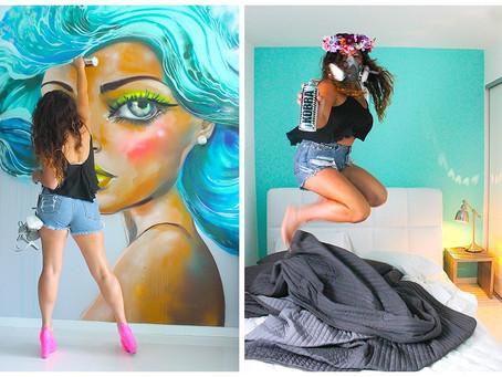 Diana Contreras: Colorful femininity