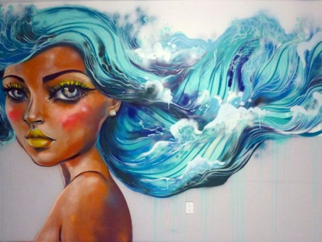 Corporate Stays Mermaid Room - Artist Diana Contreras talks urban art and Miami style