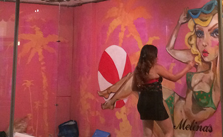 Pinups for Downtown Hollywood Mural Project