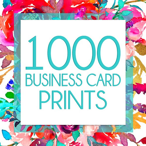 1,000 Business Card Prints