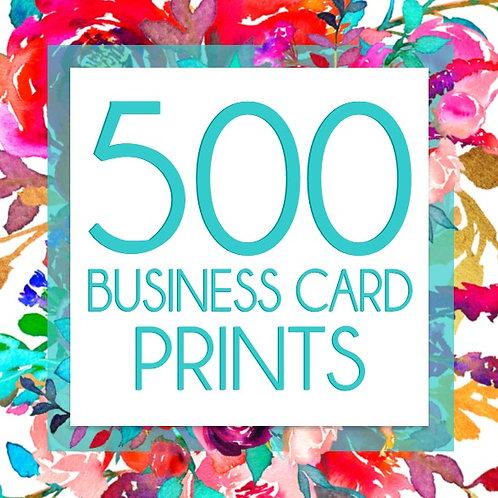 500 Business Card Prints