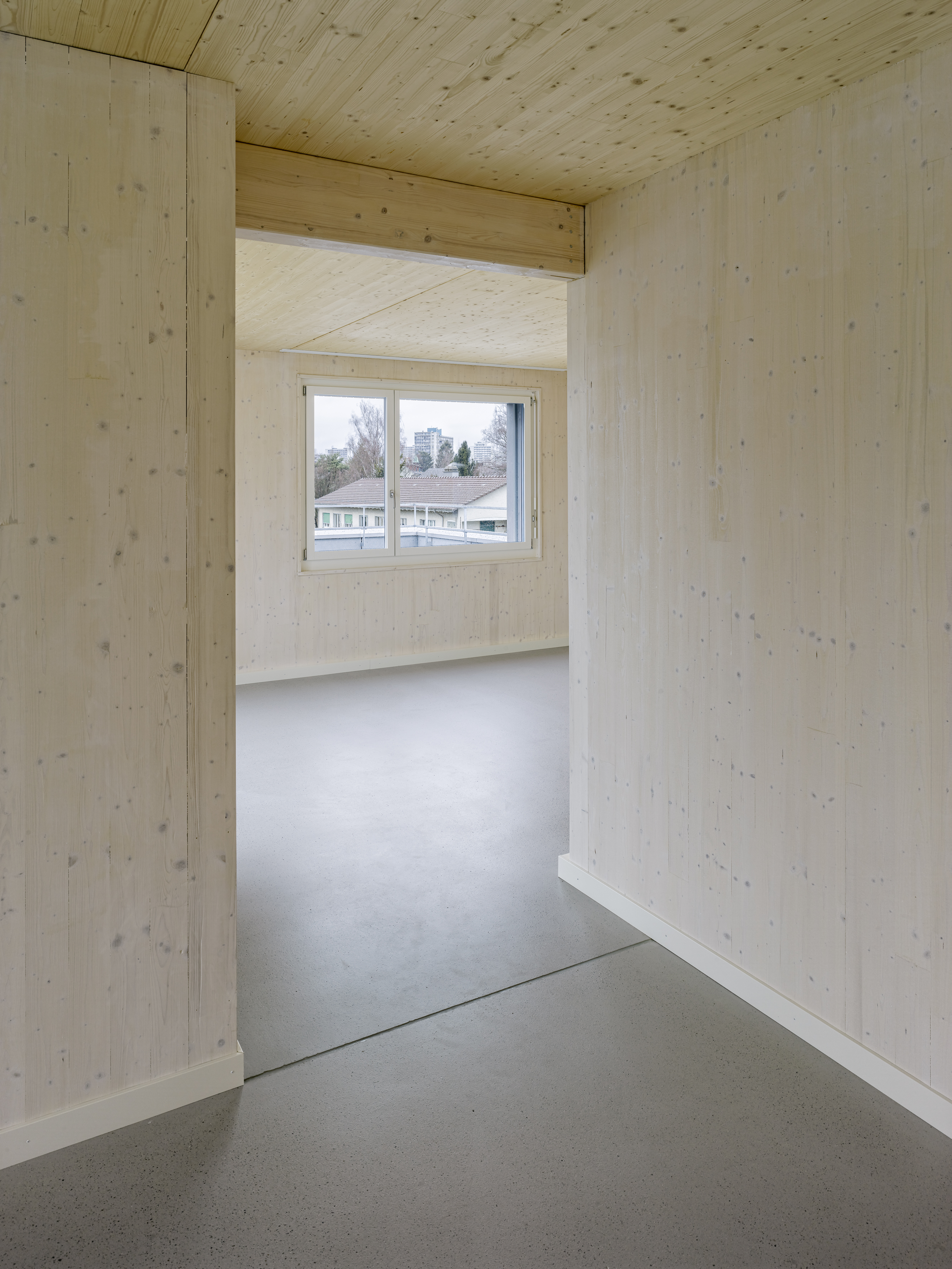 Wohnraum im diagonalen Dialog