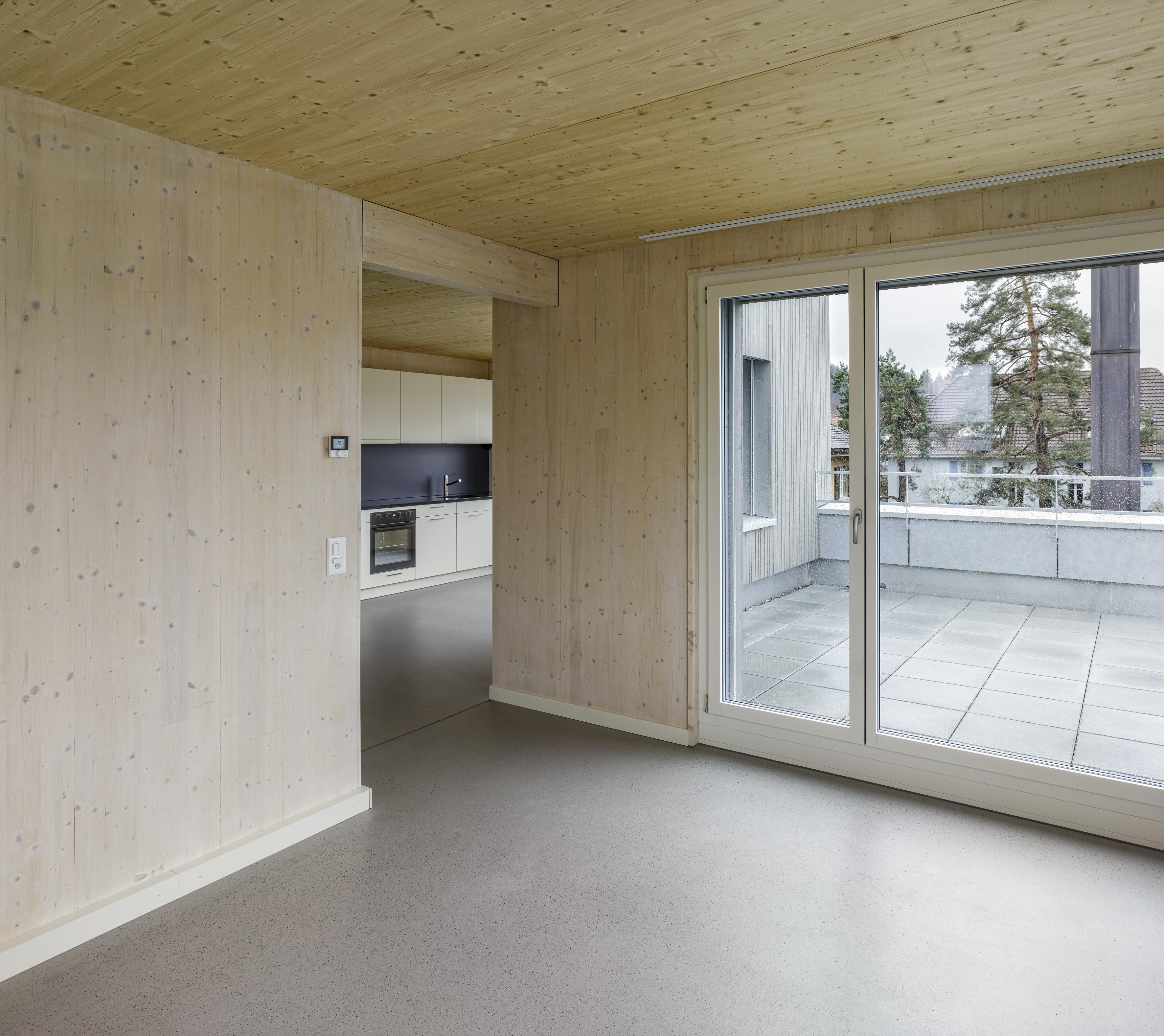 Attikawohnung mit Terrasse