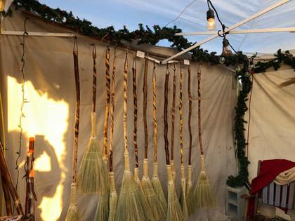 Vine Wrapped Broom