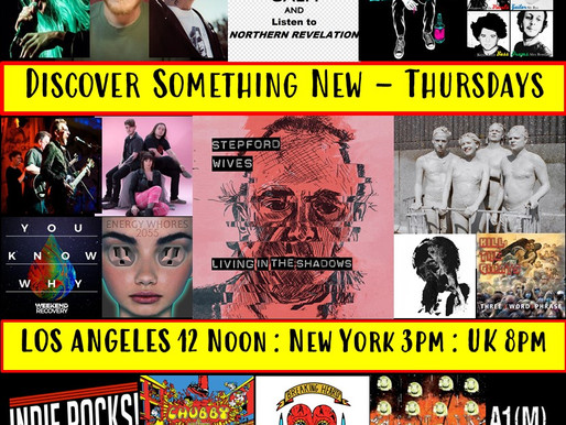 New music hits global radio every Thursday on the A1M records new music show
