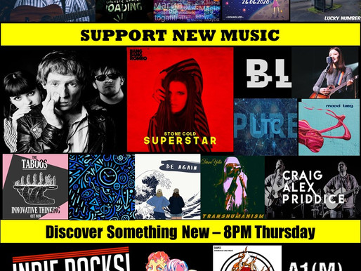 A1M New Music Show Episode 73 - 20 Stunning tracks