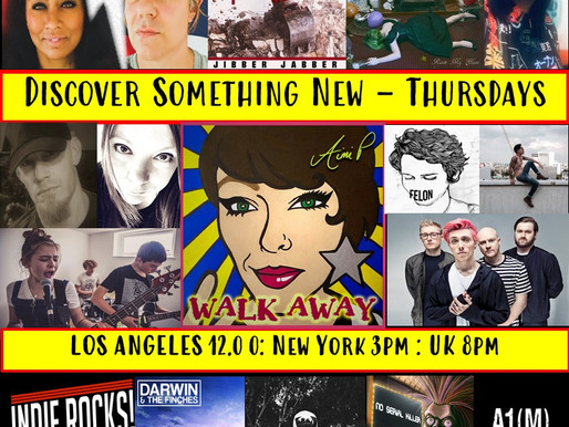 A1M New Music Radio Show - Episode 96 Hits Airwaves
