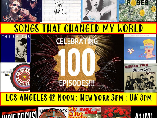 Music That Changed The World - A1M Radio Show Celebrates 100 Episodes with 2 hour special