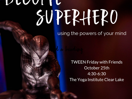 TWEEN Friday with Friends- October