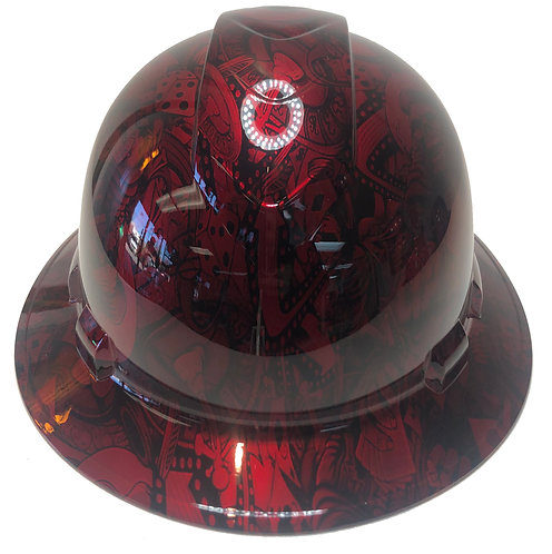 Kandy Red Gambler Ridgeline Full Brim