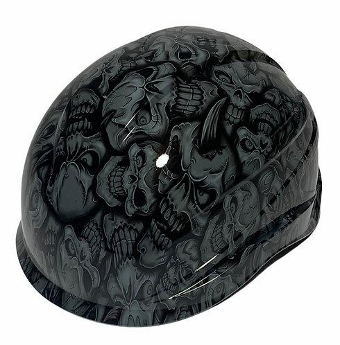 Gray Insanity Skulls Ridgeline XR7 Climber hard hat