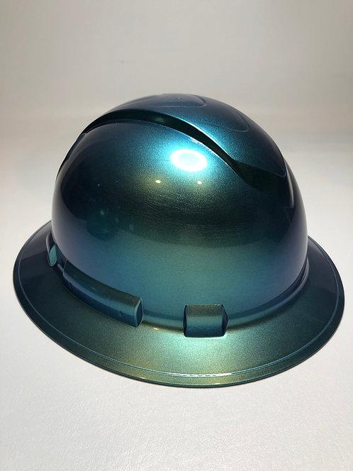 Full Brim Blue/Green Cameleon