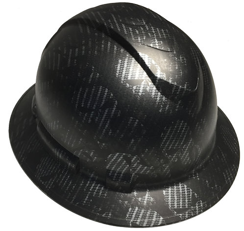 Ridgeline Full Brim Carbon Fiber Punisher Satin