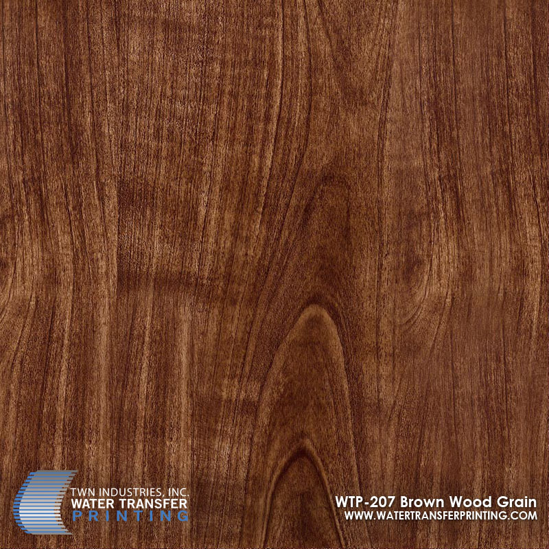WTP-207 Brown Wood Grain