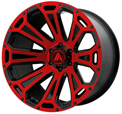 AB813 CLEAVER RED TRANSLUCENT