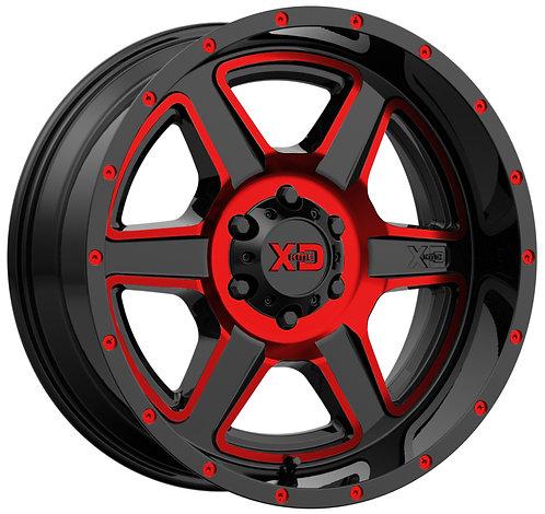 XD832 FUSION RED TRANSLUCENT