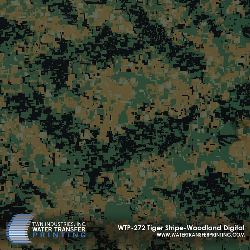 WTP-272 Tiger Stripe-Woodland Digital
