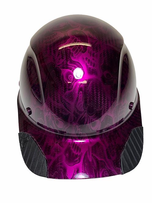 Kandy Purple Insanity Skulls  Lift Dax Carbon Fiber HDCC-17KG  Cap Style HardHat