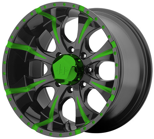 HE791 GREEN TRANSLUCENT STYLE 2