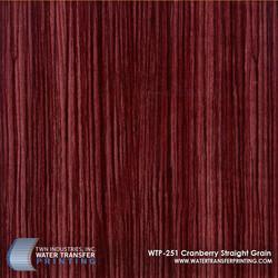 WTP-251 Cranberry Straight Grain