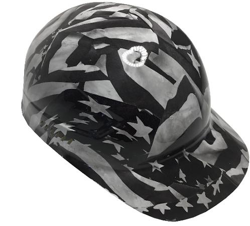 White Midnight Flags Bump cap