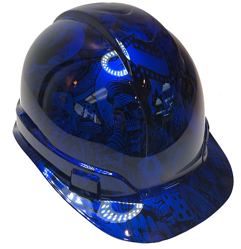 Kandy Blue Gambler Ridgeline Cap Style