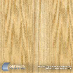 WTP-220 Light Brown Straight Grain