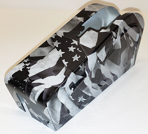 Hydro Dipped B&M Shifter Cover Midnight American Flags