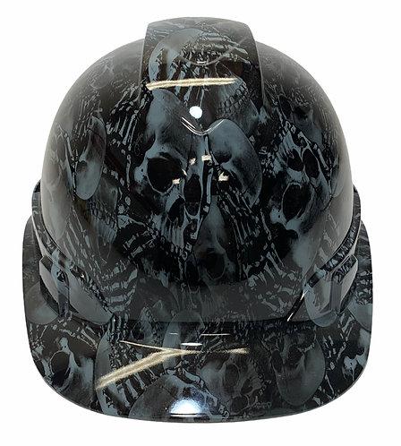 Slate  Gray No Evil Skelton's Ridgeline Cap Style