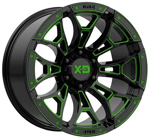 XD841 BONEYARD GREEN TRANSLUCENT 2