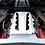 Thumbnail: Custom Hydro Dipped 2020+ Corvette Engine Cover  White  w/corvette Red