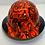 Thumbnail: Black and Orange Graffiti Lift DAX Fifty 50 HDF50C-19H
