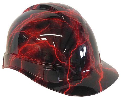 Red Lightning Hard Hat