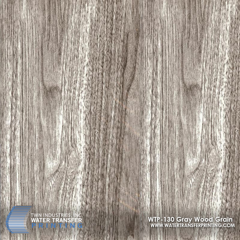 WTP-130 Gray Wood Grain