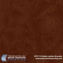 WTP-714 Italian Leather-Brunette