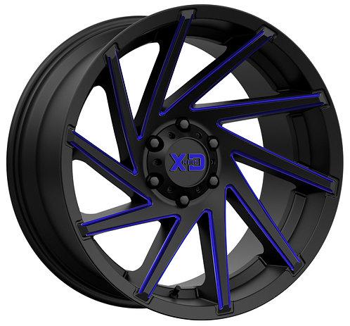 XD834 CYCLONE BLUE TRANSLUCENT