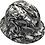 Thumbnail: White Graffiti Ridgeline Full Brim High Gloss
